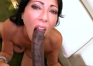 Sex starved babe Zoey Holloway with sexy butt and neatly shaved pussy likes getting her hole attacked by big black cock. Dark monster cock brings her to the edge of nirvana!