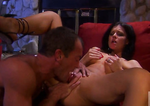 India Summer puts her soft lips on hard snake