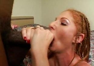 Seductive Annie Body gets her moist cum-hole pummelled