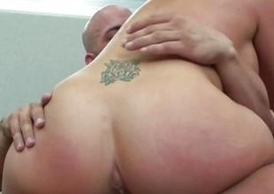 Racy Brooke Haven rides her pussy on this thick dick