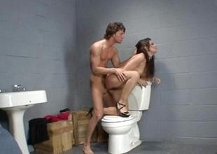 Allie Jordan throne room sex