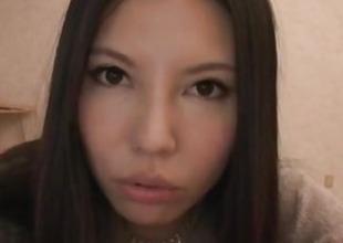 Sofia Takigawa, big scoops angel, rides rod with pleasure