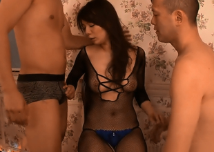 Gorgeous Broad Hodaka Yuki Threesome Delights