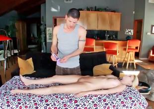 Mae Olsen got a massage that felt like no other