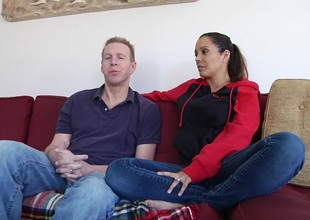 Milf and her husband talk about sex in hd porn movie