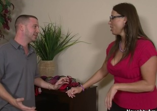 Stacie Starr & Tony Rubino in My Allies Hot Mom