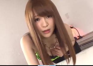 Subtitles - Japanese teen Maomi Nagasawa sucked dick an