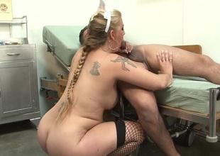 Best pornstar in incredible blonde, oral sex sex clip