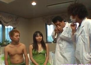 Riho Matsuoka fucked in crack