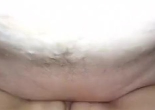 Older lady craves creampie in her freshly hairless vagina