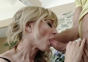MommyBB Real Aged Woman fucking her STEPSON