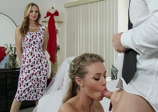 Behind the scenes on wedding days