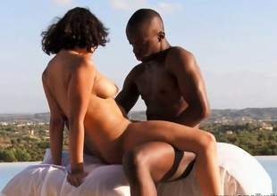 Making Love From Ebony Couple