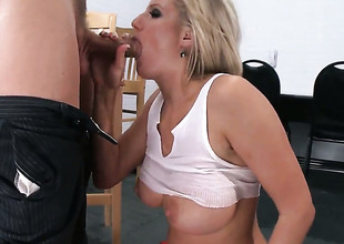Zoey Holiday with juicy knockers enjoys some anal loving with Mick Blue