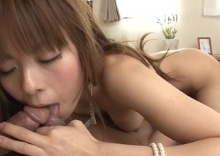 Concupiscent dudes are having raucous fun banging Japanese playgirl
