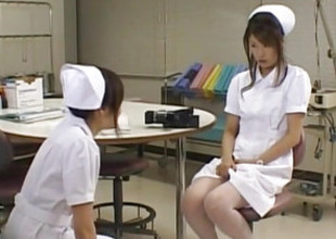 Emiri Aoi nurse loves using dildo on body