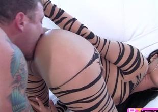 Hot slutty playgirl Jynx Maze hardly screwed in doggystyle
