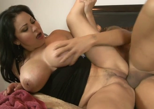 Wicked mom with big boobs Sofia Lomeli gets banged well