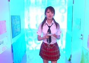 Tsubasa Amami in Sex in School part 4