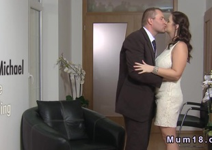 Huge mounds overweight bride banging
