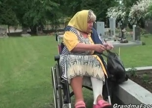 Granny receives forced to sex