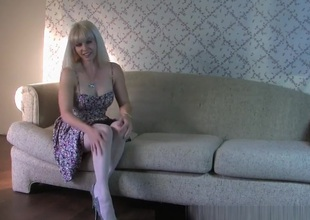 Awesome Homemade episode with Blonde, MILF scenes