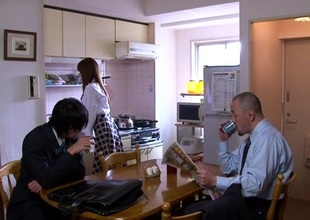 Akiho Yoshizawa in Bride Drilled by her Father in Law part 2.1