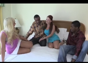Alexis and Janet - BBC Interracial Foursome