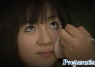 Hitomi Fujihara young bimbo gets nasty on knob