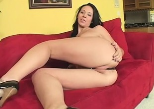 Naughty starlet gets kinky and fucks a lustful guy's brains out