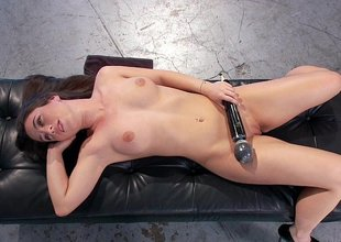 The bewitching beauty of anal machine sex