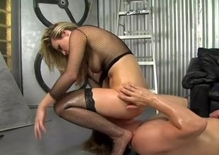 Harmony is a very pretty blonde with a voracious appetite for cock. Watch this blossomed flower as this babe partakes in hardcore sex. Her booty will be moistened, her cunt will be creamed and her thirst will be quenched... everyone's happy!