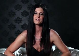 India Summer is a charming chick before she shoots porn
