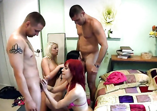 Group sex with 4 people