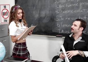 Rebel Lynn is one naughty highschool student
