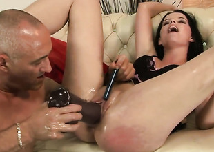 Teen Sheala Brill and her hot man fuck like rabbits