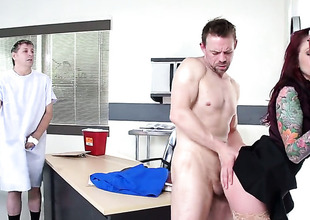 Monique Alexander is on the edge of nirvana with Erik Everhards erect snake in her asshole