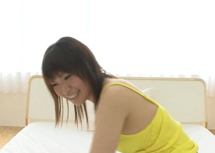 Lusty anal satisfying for large scoops Asian sweetheart