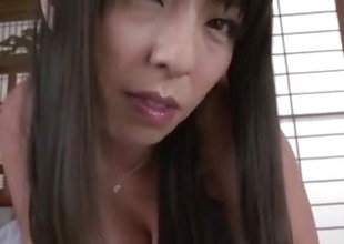 Ryoko Murakami, big pointer sisters milf, shakes hard on a big dick