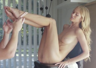Nancy A loves having her pussy pumped hard