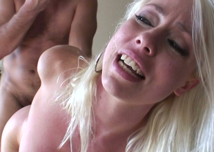 Hawt blondie Lorelei Lee receives her anus banged by Manuel Ferrara