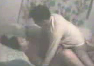 Passionate Indian couple is having missionary style sex