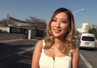 Exotic Japanese chick Aika in Amazing blowjob, live shows JAV clip