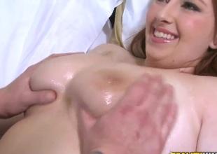 Clover fucks Felicia Clover's big love melons