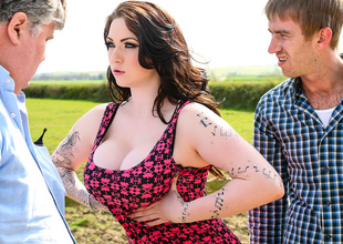 Harmony Reigns & Danny D in Little British Cock-Whore - Brazzers