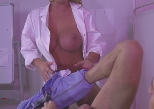 Leigh Darby & Chris Diamond in Naughty Checkup with Dr. Darby - Brazzers