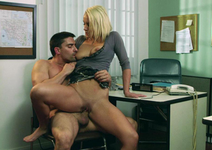 Lexi Swallow & Toni Ribas in Sex and Corruption 2, Scene 5