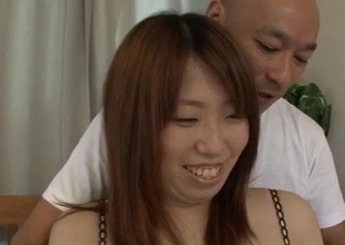 Ai Ootomo Asian hottie screwed hard and made to gulp