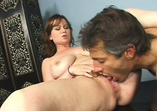 Violet acquires it on with her hairy trainer after she worked out for a bit