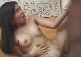 Filipina beauty Hazel gets a big black cock